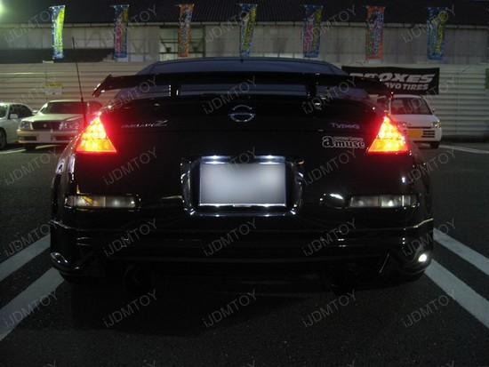 Nissan - 350Z - 168 - LED - license - plate - lights - 1